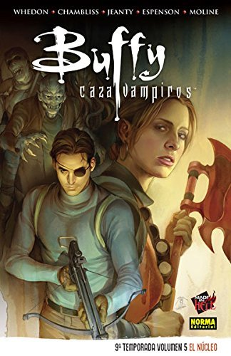 Buffy cazavampiros 9º temp. Vol 5. El núcleo (Comic Usa) de Whedon - Chambliss- Jeanty- Espenson - Moline (22 may 2015) Tapa blanda