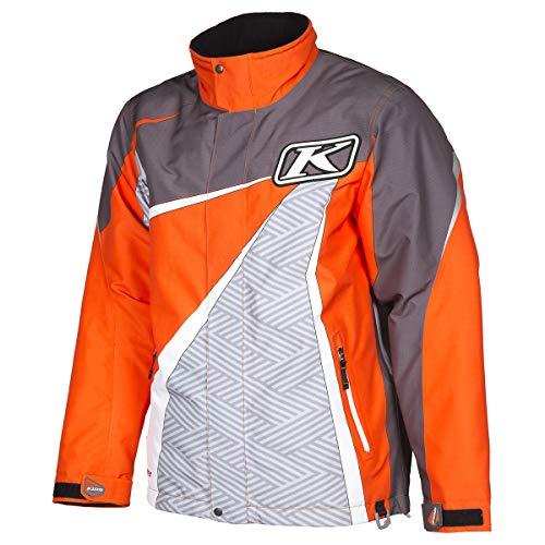 Klim Kaos Parka Men's Ski Snowmobile Jacket - Orange/Large