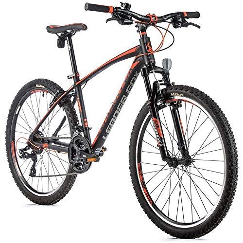 26 Zoll Leader Fox MXC Fahrrad MTB 21 Gang Shimano V-Brake Rh 36cm schwarz orange