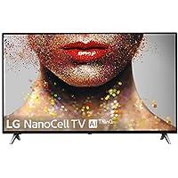 """LG 65SM8500ALEXA - Smart TV NanoCell 4K UHD de 165 cm (65"""") con Alexa Integrada (procesador Inteligente Alpha 7 Gen. 2, Deep Learning, 100% HDR y Dolby Atmos) Color Negro"""