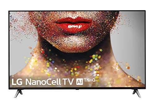 "LG 55SM8500ALEXA - Smart TV NanoCell 4K UHD de 139 cm (55"") con Alexa Integrada (procesador Inteligente Alpha 7 Gen. 2, Deep Learning, 100% HDR y Dolby Atmos) Color Negro"