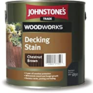 Provides up to 3 years protection form the weather For new and previously stained decking and cladding Quick drying, long lasting and helps resist cracking, peeling and fading Protects against mould and fungal growth Coverage: 12m2/litre