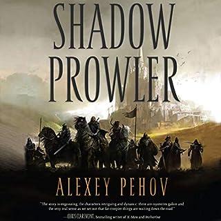 Shadow Prowler audiobook cover art
