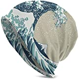 Mamihong Sombreros Beanie Great Wave Mount Siglo XIX Slouchy