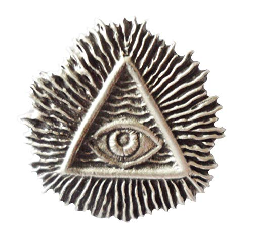 maçonnique toutes QUI VOIT Eye of Providence étain épinglette - lp1222