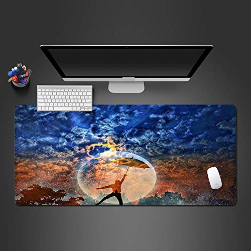 Atvvsovs – Extra Large Gaming Mouse Pad 120Cmxx60Cmx3Mm Oversize - Mousepad - Cool Character Pattern Mouse Mat With Motif – Extra Large Desk Pad - For Precision And Speed – For Mouse And Keyboard