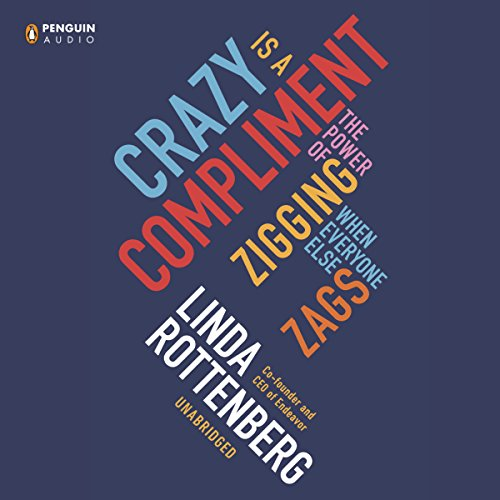 Crazy Is a Compliment audiobook cover art