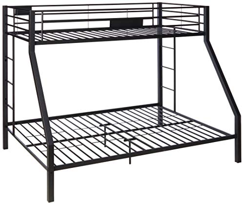 Acme Furniture ACME Limbra Black Sand Twin XL over Queen Bunk Bed
