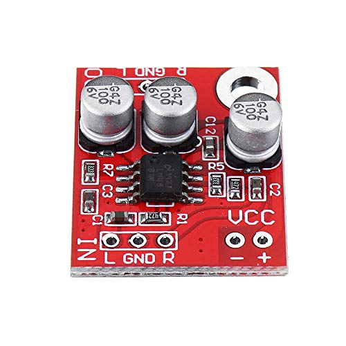 MUKUAI22 LM4881 Miniskirt Headphone Headset Amplifier Board Audio Preamplifier Amplifiers 2.7-5.5V DC DIY