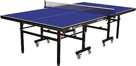 طاولة تنس قابلة للطي والتحريك من سكاي لاند EM-8002، ازرق
