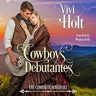 Cowboys & Debutantes Historical: The Complete Series audiobook cover art