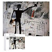 ジグソーパズル 1000ピース 木製 パズル ジャン=ミシェル・バスキア ピクチュアパズル Picture puzzle おもちゃ ウォールアート 壁飾り 壁掛け ポスター アートフレーム ギフト プレゼント 知育減圧 オフィス インテリア 50x75cm
