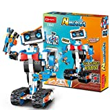 STEM Robot Building Block Toy for Kids, OKK Remote and APP Controlled Engineering Science...