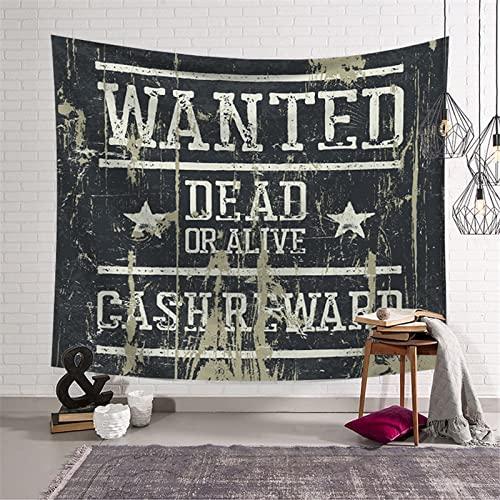Tapiz punk estética colgante de pared hippie tapiz bohemio decoración de la habitación bruja tapices de pared A4 150x200cm