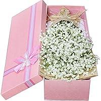 Buweiser - 1 juego de flores artificiales pequeñas Gypsophila Paniculata, ramo para decoración de mesa de bodas