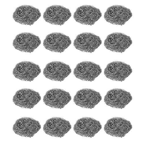 Bola de limpieza Almohadillas de fregar de acero inoxidable Limpiadores de fregado de cocina Sartenes Hornos para limpiar ollas