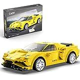Keeph Technic Sports Car Building Kits, CADA 289 piezas 2.4 G APP controlada por rayado gráfico programado RC Sports Car Ladrillos compatibles con marcas líderes