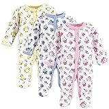 Luvable Friends Unisex Baby Cotton Preemie Sleep and Play, Floral, Preemie