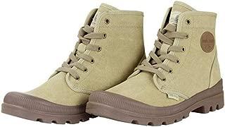 desert canvas boots