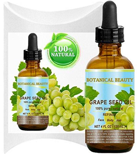 Olio di semi di uva. 100% puro/naturale/non diluito pressato a freddo per...