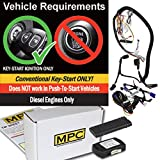MPC Prewired Smartphone or Factory Remote Activated Start Kit for 2011-2016 Ford F-250 Diesel Only - w/T-Harness