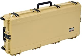SKB Injection Molded 41-Inch Wide Single Parallel Limb Bow Case (Desert Tan)