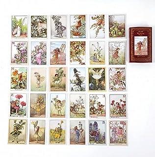 Vimax - Assorted Stickers - Fairy & Elf Matchbox Diary Stickers Retro Stamps Scrapbooking Korean Sticker Label 60pcs/box (2)