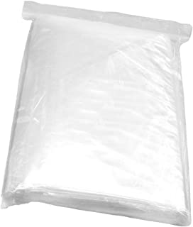"""Poly Bags 9/""""x10/"""" 1Mil Clear Open Top 1000 Count Uline"""