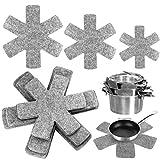 Twdrer 18個パック 3サイズ グレー鍋とフライパン 調理器具 仕切り プロテクター パッド セパレーター 傷や損傷を避ける