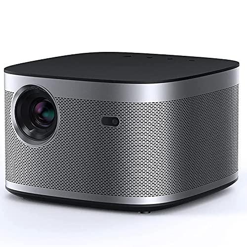 YOBDDD 1900ANSI Proyector Home HD 1080p Mini proyector Enfoque automático 1080P Proyección HD Enfriamiento automático Protección Ocular Proyector de Video Más Claro Durante el día
