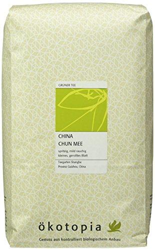 Ökotopia Grüner Tee China Chun Mee, 1er Pack (1 x 1000 g)