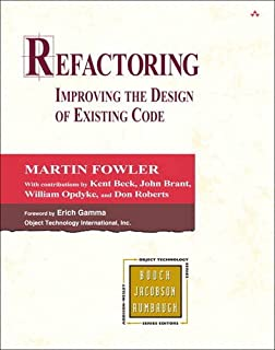 Refactoring: Improving the Design of Existing Code (Addison-Wesley Object Technology Series) (0201485672) | Amazon price tracker / tracking, Amazon price history charts, Amazon price watches, Amazon price drop alerts