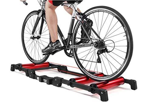 Rodillos de bicicleta de interior ejercicio bicicleta rodillo entrenador soporte aluminio MTB Road Bicicletas Home Ciclismo Entrenamiento para 24-29 MTB Bike