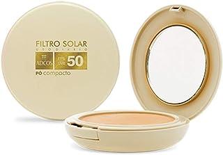 Adcos Filtro Solar Tonalizante FPS50 pó compacto 11g Translucido