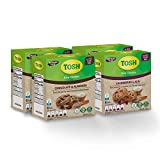 Tosh Artisan Style Rice Cookies Variety Pack | 2 different flavors | Includes 2 Chocolate & Almond 5.5 Oz & 2 Cranberries & Acai 5.5 Oz (Pack of 4)