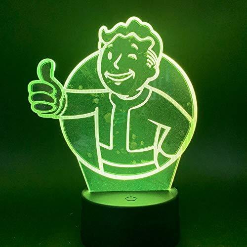 Night Light Led Night Light Juego Fallout Shelter 3d Led Night Light...