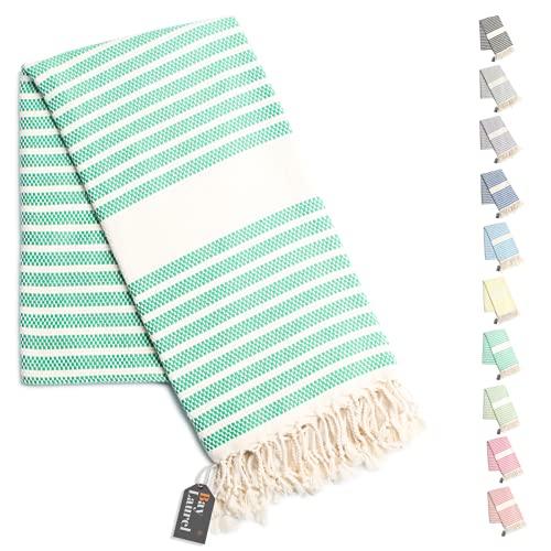 "100% Natural Cotton Turkish Throw Blanket 39"" x 71"", Turkish Beach Blankets and Throws, Thin Blanket, Turkish Beach Towels, Boho Throw Blankets, Farmhouse Throw Blanket, Summer Blanket"