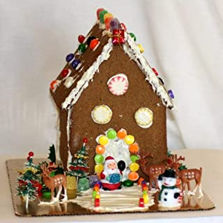gluten and dairy free gingerbread house