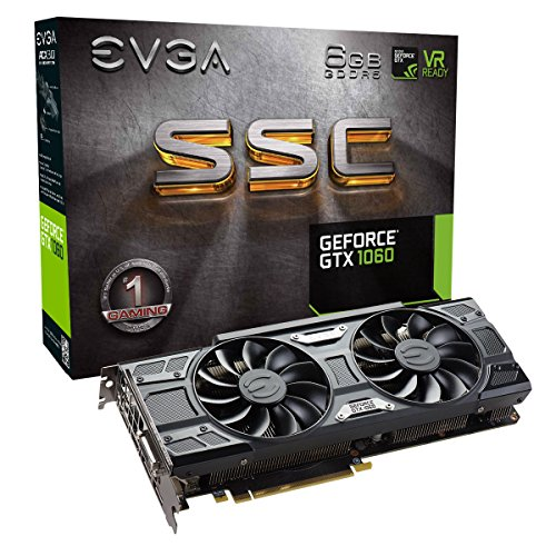 EVGA GeForce GTX 1060 SC GAMING,...