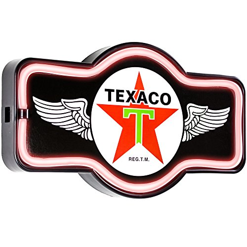 Texaco Oil Gas Station - Reproduction Vintage Advertising Marquee Sign