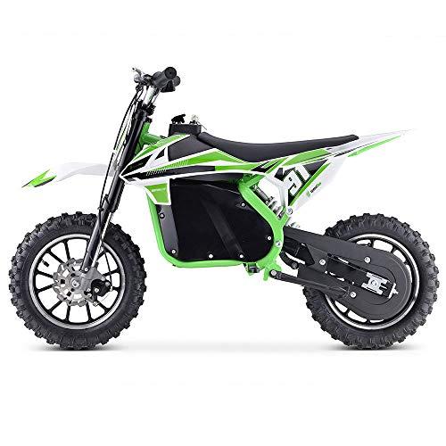 Moto Eléctrica Niños Desde 5 o 6 años | Minimoto Eléctrica Verde...