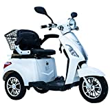 Electric Mobility Scooter 3 Wheeled with Extra Accessories Package: Mobility Scooter Waterproof Cover, Phone Holder, Bottle Holder by Green Power
