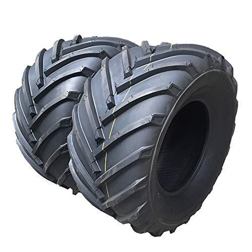 Set von 2 Tubeless 23x10.50-12 4-lagige Lastbereich B Rasenmäher 23x10.50-12 P328 Rasenmäher LRB für Gartenmäher Traktor Golf Cart Reifen