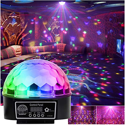 Luz LED disco Efecto Bola de Discoteca Magic DMX512 RGB Proyector para Fiestas Discotecas