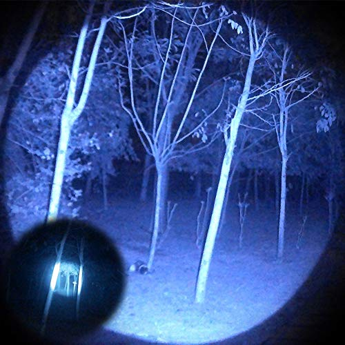 Odepro KL52-IR Zoomable 1312ft IR850nm Infrared Light with Dimmer Remote Switch for Hunting
