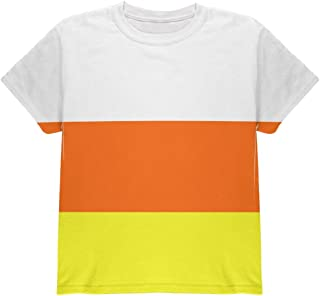 Halloween Candy Corn Costume All Over Youth T Shirt