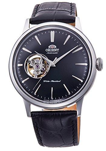[オリエント時計] 腕時計 クラシック セミスケルトン 機械式 RN-AG0007B