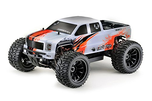 Absima Hot Shot Series 12216 Next Generation AMT2.4 Brushless 1:10 RC Modellauto Elektro Monstertruck Allradantrieb RTR 2.4 GHz