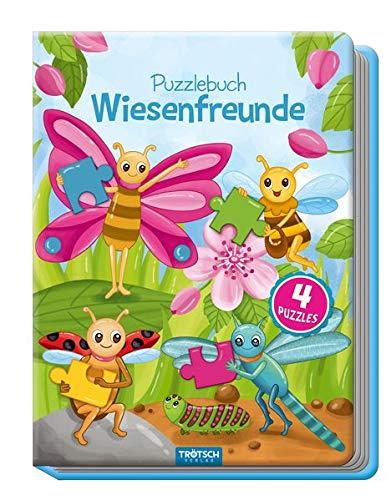 Trötsch Wiesenfreunde Puzzlebuch: Beschäftigungsbuch Entdeckerbuch Puzzlebuch