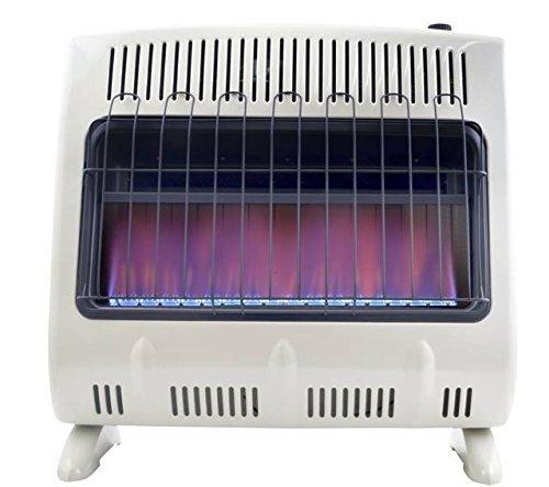Mr. Heater 30,000 BTU Vent Free Blue Flame Natural Gas Heater MHVFB30NGT (Renewed)